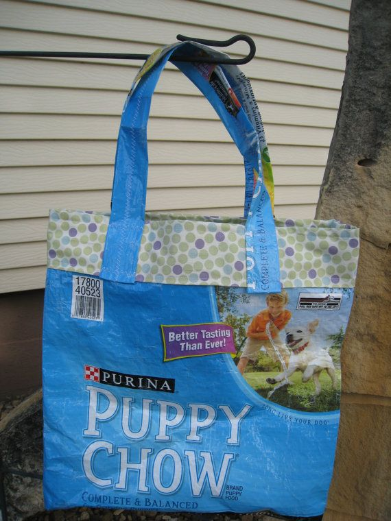 puppy tote bag for Boones overnight stays & to carry his puppy supplies around in. :]