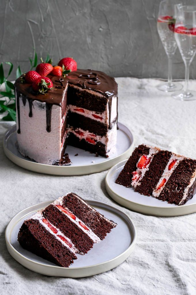 Der ultimative einfache vegane Schokoladenkuchen