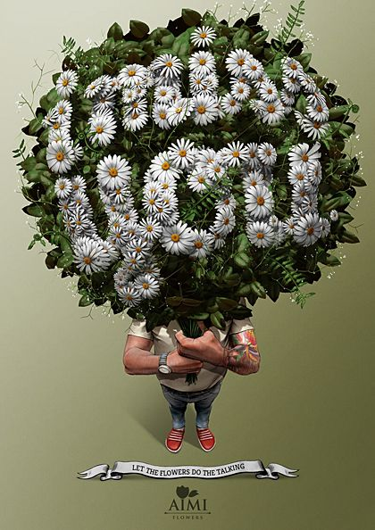 Let The Flowers Do The Talking   Creative Ad Awards