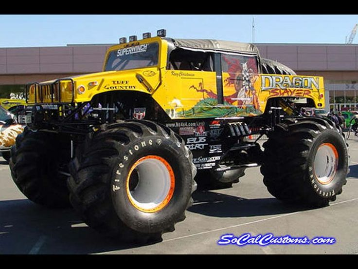 Best Big Foot Cars Images On Pinterest Monster Trucks