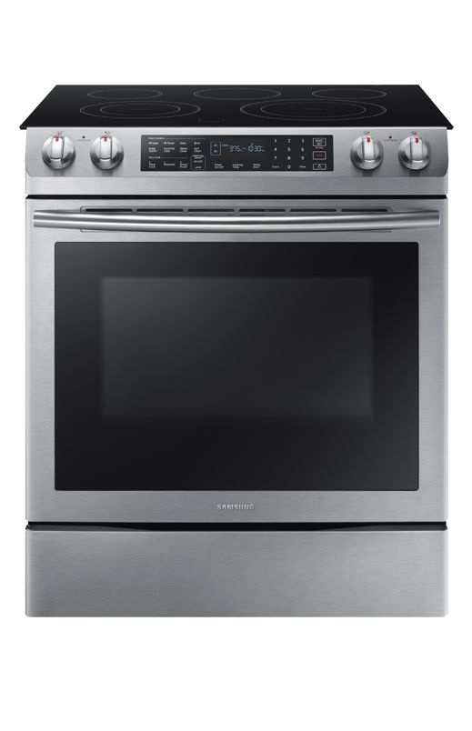 Cuisinière encastrable Vitrocéramique Samsung - NE58M9430SSAC // Samsung Built-in Ceramic Cooktop Range - NE58M9430SSAC #Cuisine #Cuisinière #Électroménager #Acierinoxydable #Étincelant #Kitchen #Range #Appliance #Stainlesssteel #Bright