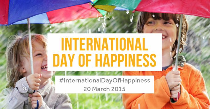 March 20th - International Day of Happiness