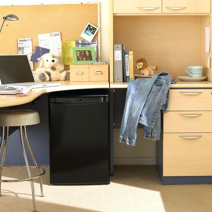 Small Office Desk Fridge - Diy Corner Desk Ideas Check more at http://www.sewcraftyjenn.com/small-office-desk-fridge/