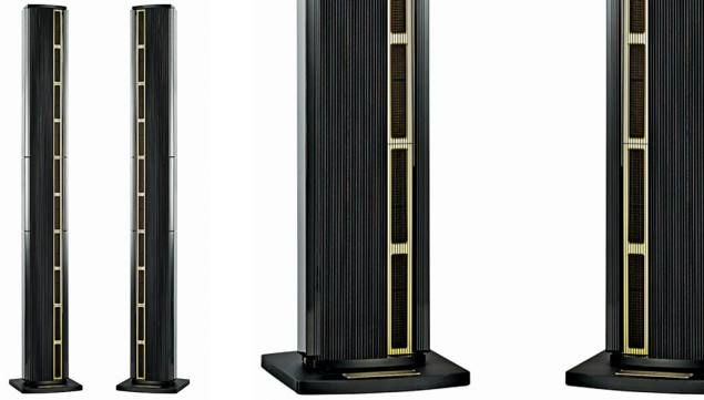 The Model LS Concert speakers combine the best of both systems' speakers: an open-baffle design with a line-source array.