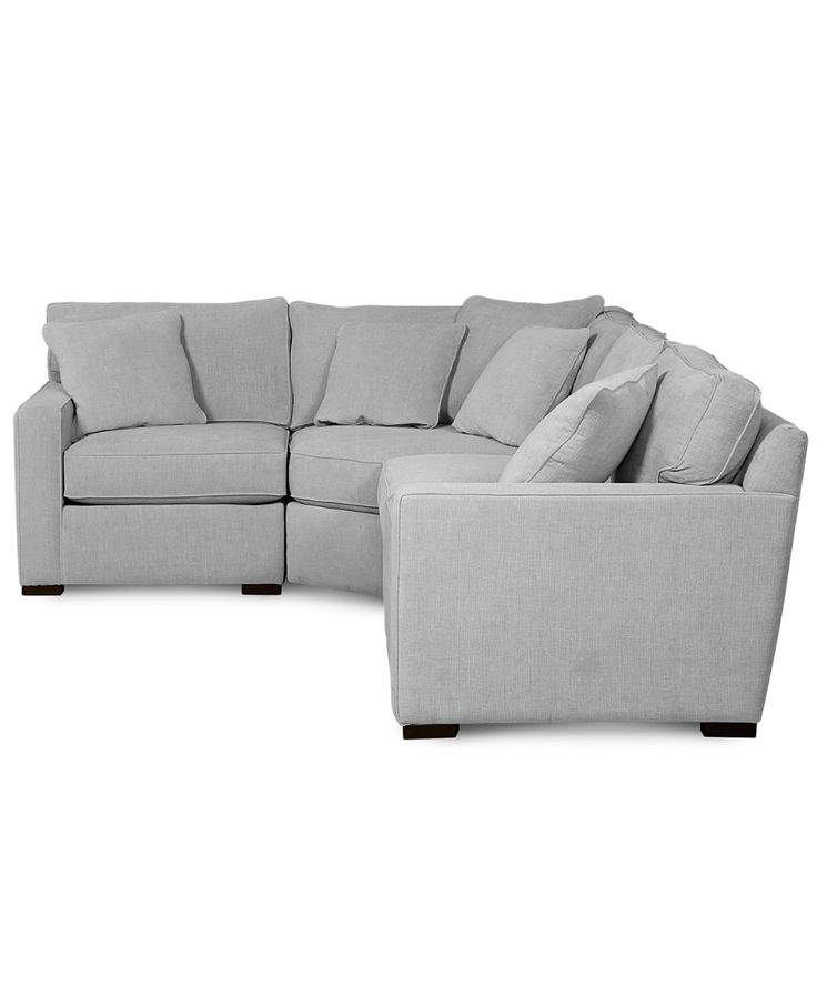 Best Furniture Radley Fabric 4 Piece Sectional Sofa Created 400 x 300