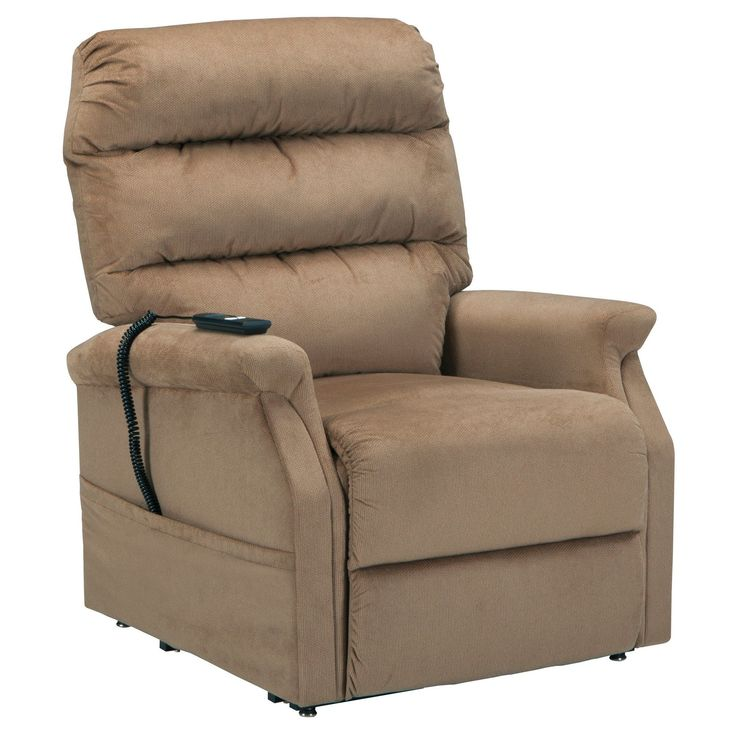 Brenyth Power Lift Recliner - Mocha - Signature Design by Ashley, Beige