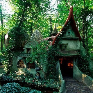 Mystical: Eftel, Forests Houses, Fairies Houses, The Netherlands, Hobbit Houses, Cottages, Places, Forest House, Fairies Tales