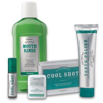 Melaleuca Dental Line. The best dental check-ups I have ever had since using these products.