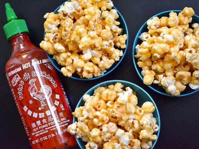 Sriracha Caramel Corn @Richie