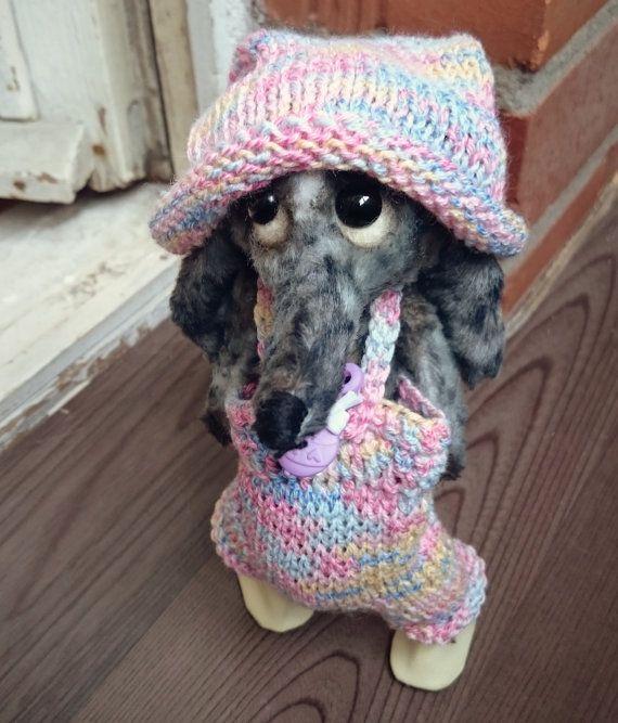Christmas SALE 20% OFF Teddie dachshund A от Cosydachshund на Etsy