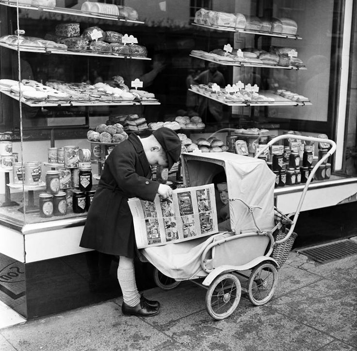Moments of Children in England during the 1950s