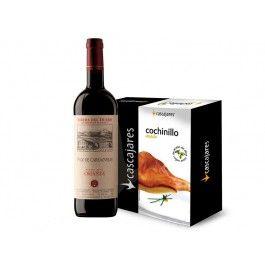 OFERTA ESPECIAL  Lote de vino Ribera de Duero Pago de Carraovejas y Cochinillo asado.  SPECIAL OFFER Pago de Carraovejas and Suckling Pig Confited in Olive Oil Pack #sof #comidaespañola #españa #castillayleon #pagodecarraovejas  #crianza #riberadelduero #DO #vino #tinto #cochinillo #asado #spanishfood #spain #wine #red #sucklingpig #instafood #instagood #gourmet #delicatessen #yummy Spanish Food Online Comida Española…
