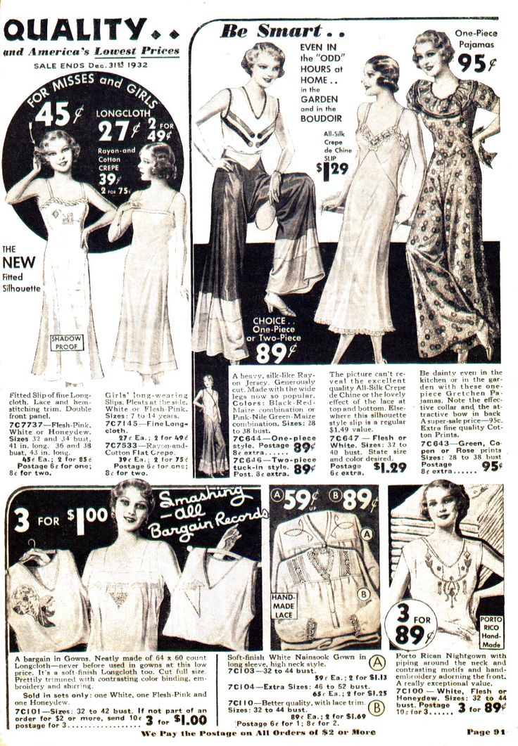 10 best 1933 Nighties Early Vintage images on Pinterest | Nighties ...