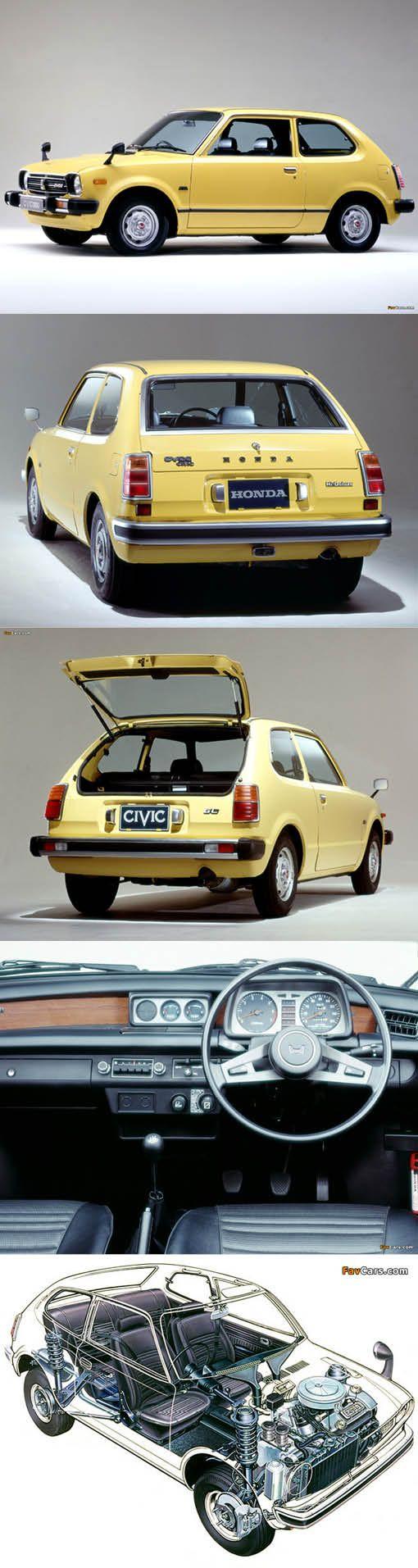1972 Honda Civic / Japan / yellow