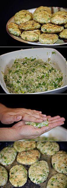 Cum de a găti prăjituri de pește.  - Reteta, ingrediente si imagini