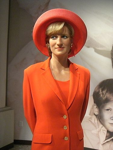 #Princess Diana......a never seen before! Wax figure. Not the real Princess. This is part of a display...dug.