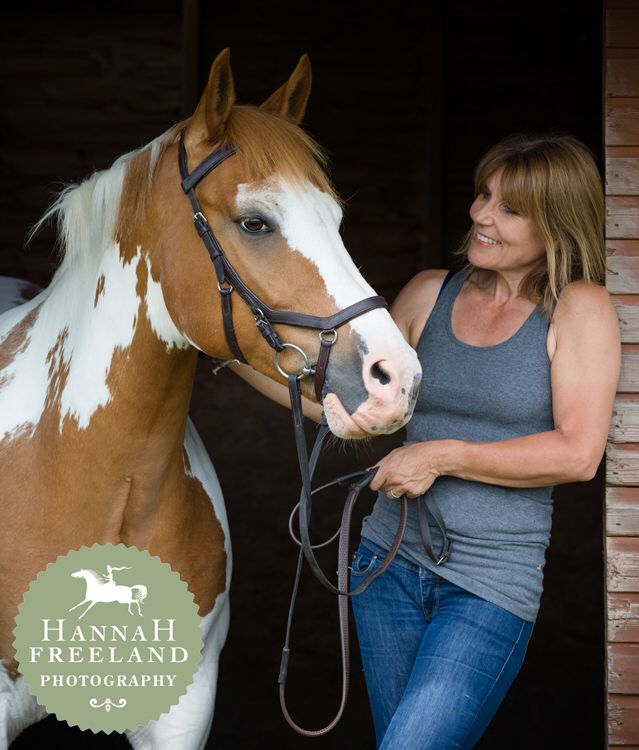 Equine Portrait by Hannah Freeland Photography. Love and connection between horse and owner. Beautiful coloured horse.