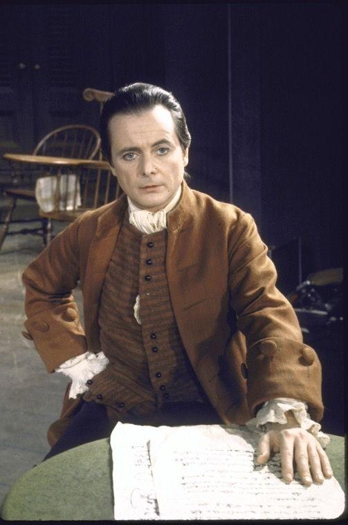 William Daniels as John Adams in 1776