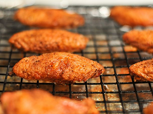 Oven-Fried Old Bay Wings | Serious Eats : Recipes