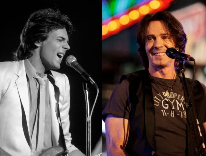 Rick Springfield Then: On stage, 1980. Age 21 Now: New York, N.Y., 2013. Age 64