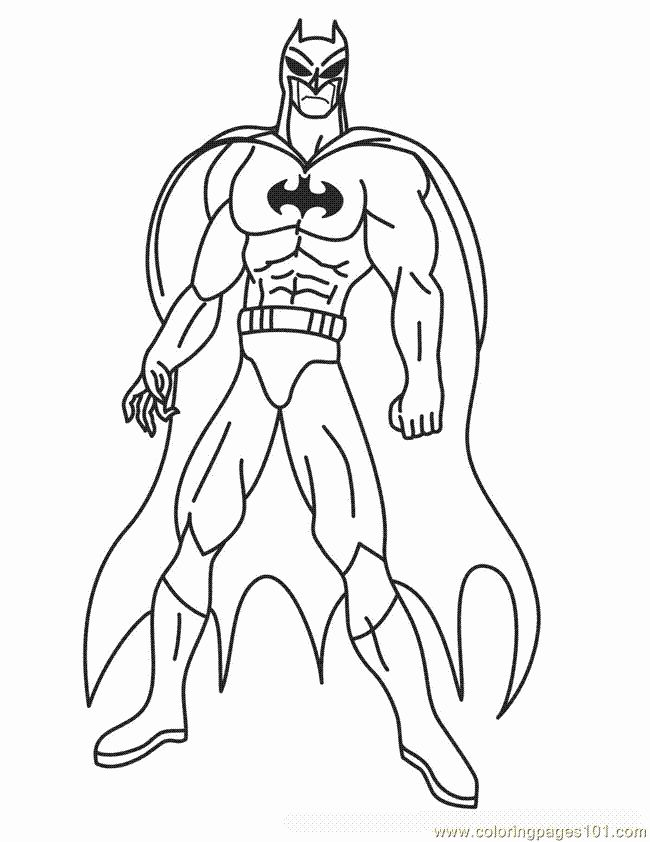 Coloring Pages For Kids Batman In 2020 Superhero Coloring Pages Spiderman Coloring Superhero Coloring