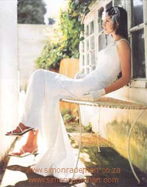 Bridal Wear by Simon Rademan, published in SarieBruid Magazine - find many more on www.simonrademan.co.za