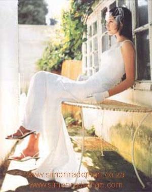 Bridal Wear by Simon Rademan, published in SarieBruid Magazine - find many more on www.simonrademan.co.za