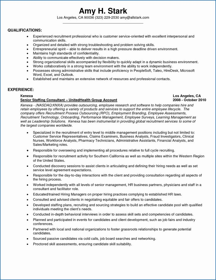 time management and organizational skills resume