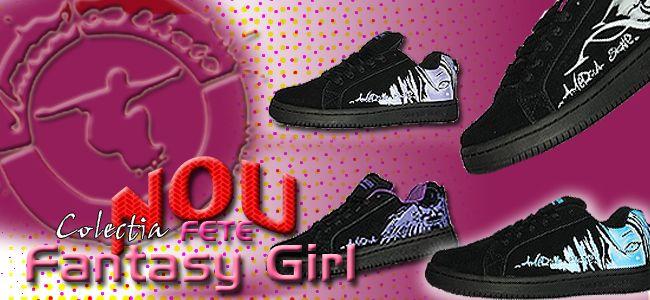 fantasy girl americaskate shoes