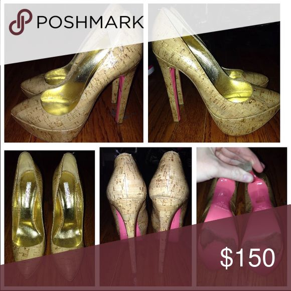 Cork ruthie davis heel size 39 38 38.5 37 Cork, used, ruthie davis heel, size 39 but would fit 38 or 37.5 best Shoes Heels