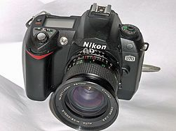 Bracket Photos With a Nikon D70
