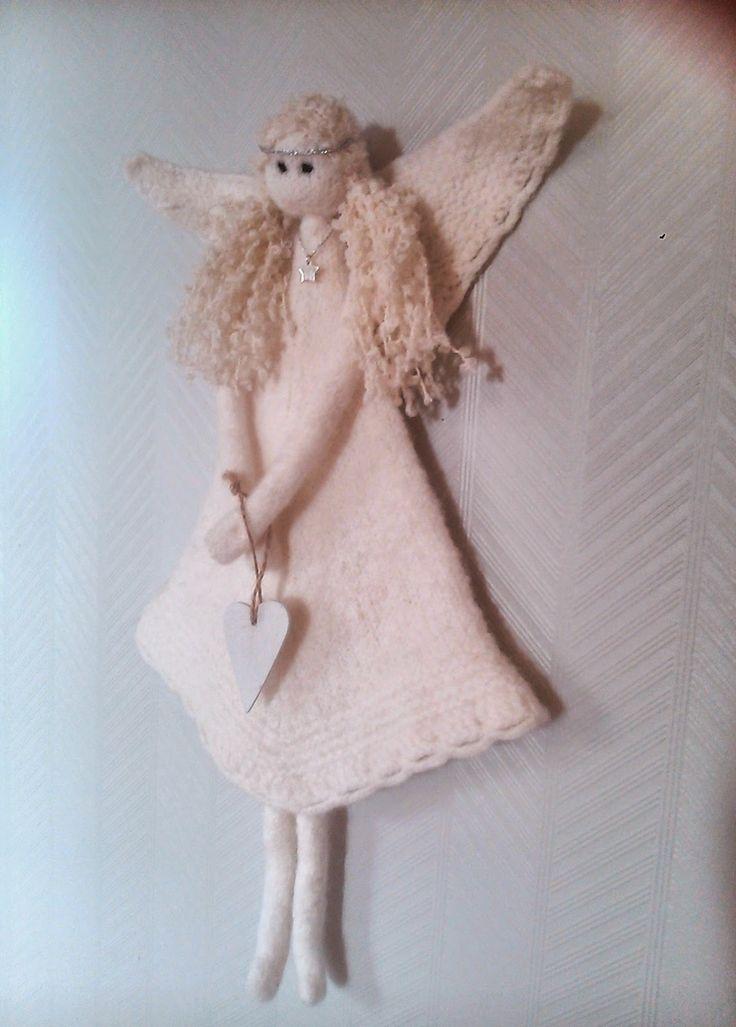 Kreative mamma: Tovet engel