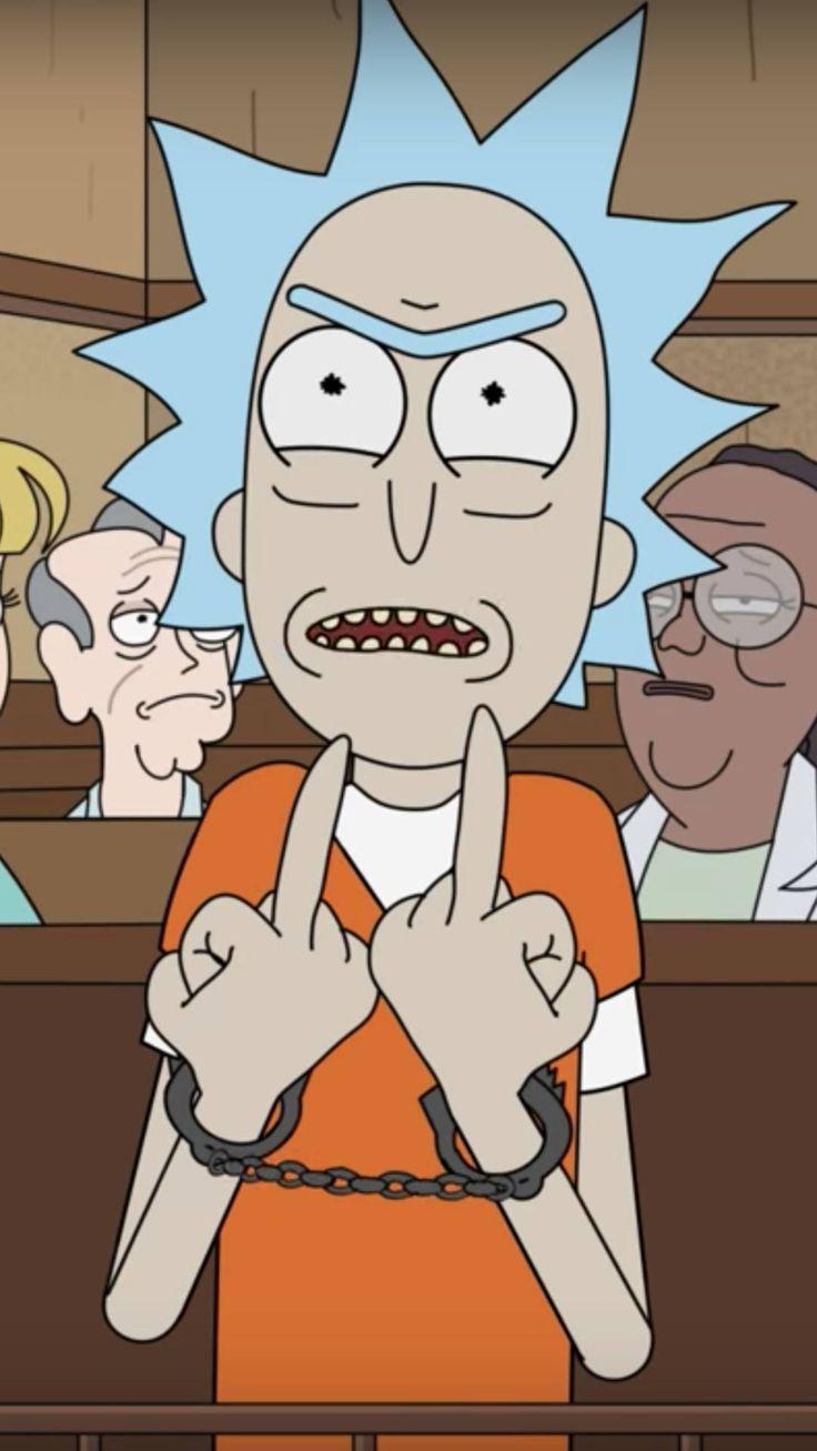 Rick and Morty stellen einen Prozess aus Rome (Georgia) nach. Eine würdelose Be