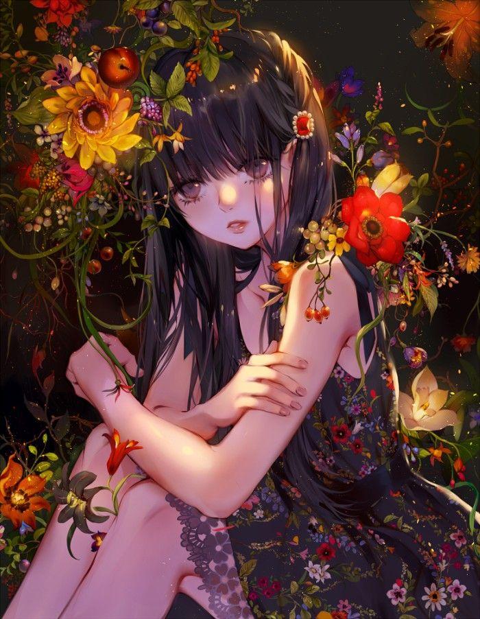 botanical 绘师:月岡月穂 本作品pixiv id=65571936