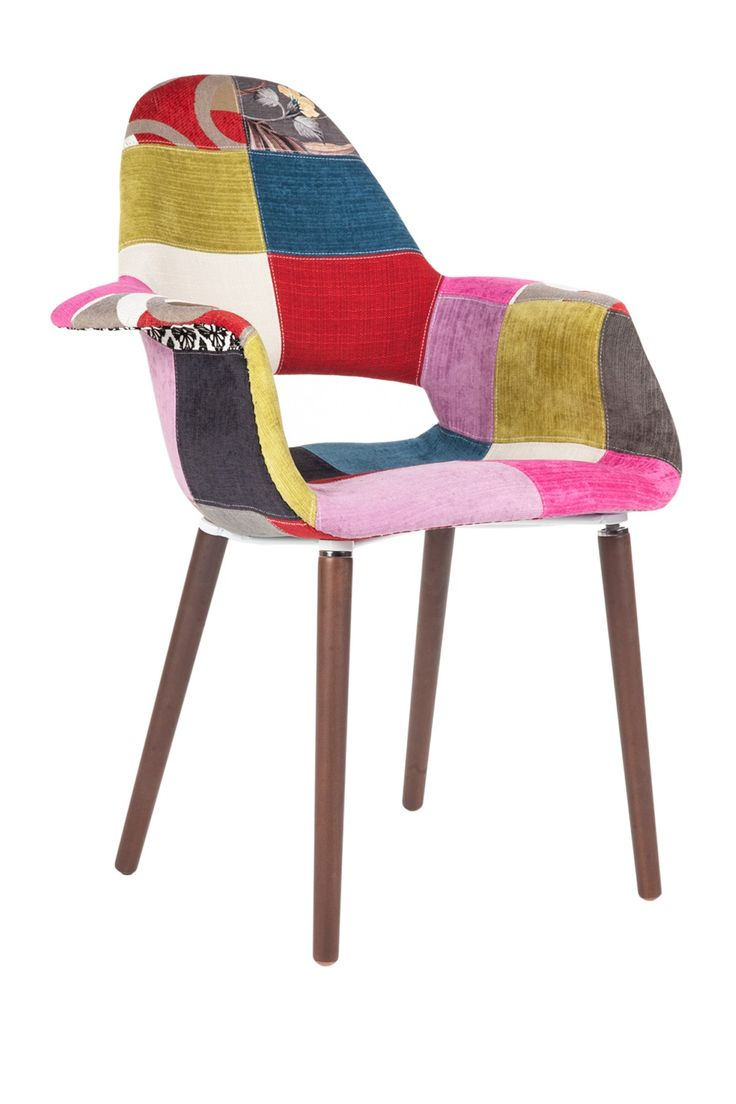 The Organic Color Patchwork Chair. Dining Table ChairsWood ...