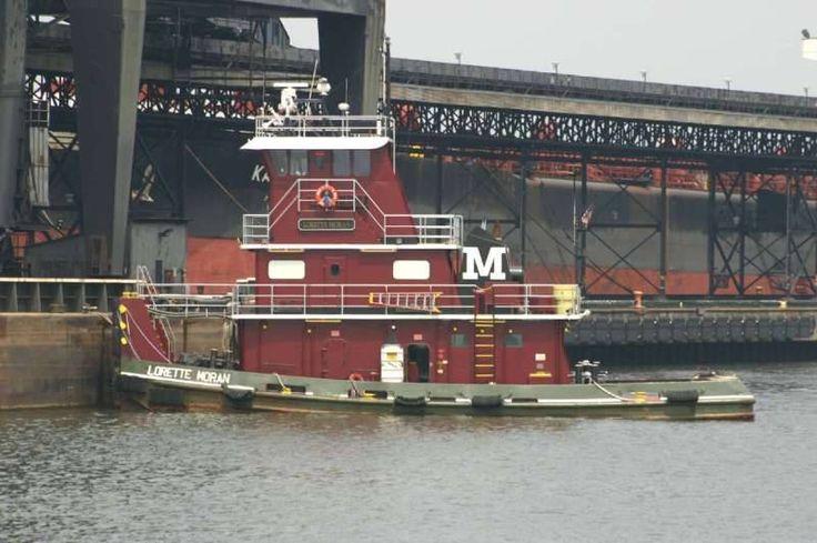 LORETTE MORAN | Tug boats, Working boat, Tug