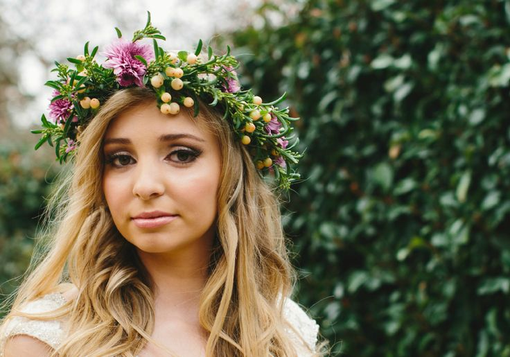 Photography by Liz Arcus Photography. Flower Crown By Simply Stems Boutique Florist