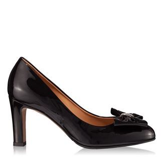 Pantofi dama negri 4254 piele lacuita