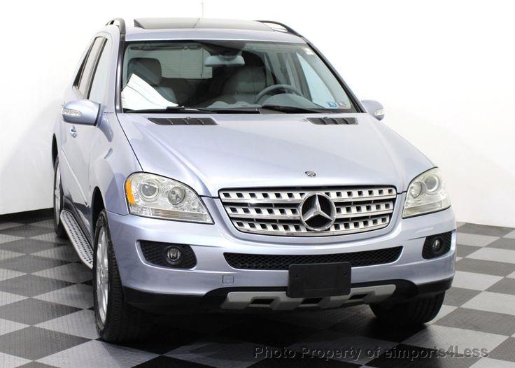 2008 Used MercedesBenz MClass ML350 4MATIC AWD SUV
