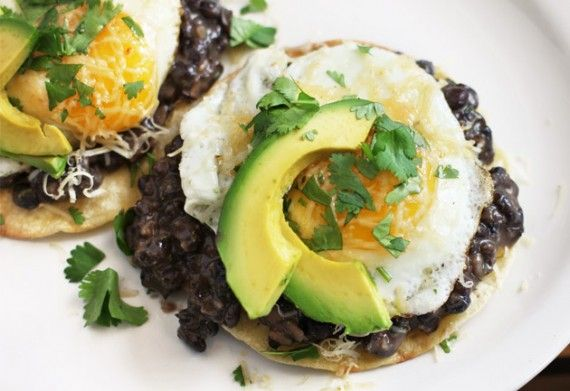 ranchero breakfast tostada ala the new sprouted kitchen book!