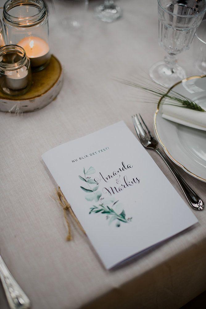 Lantligt bröllop med ladufest: Amanda + Markus