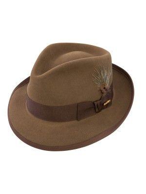 166f2cc7f15f3 Stetson Gurnee - Wool Fedora Hat in 2019