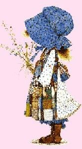 Vintage Holly Hobbie/ this was what my room was when I was little... I loved it!