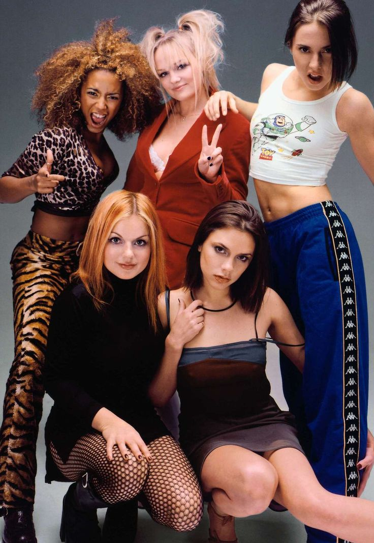 "On this day in 1996, The Spice Girls released their debut single ""Wannabe.""  GIRL POWER!!"