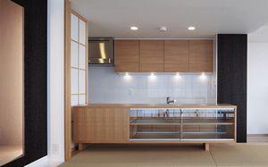 千里中央の家 マンションのデザインリフォーム キッチン