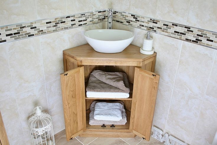 corner bathroom sink cabinet home remodeling pinterest