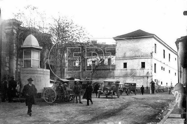 Η οδός Αρεως στο Μοναστηράκι την δεκαετία του 1920. Φωτογράφος Πέτρος Πουλίδης