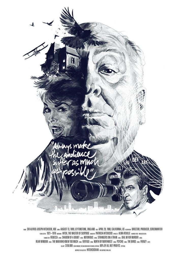Movie Director Portraits by Julian Rentzsch.