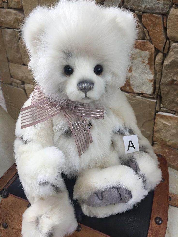 Licky Tissue Charlie Bears Plush Collectable Teddy Bear Teddy