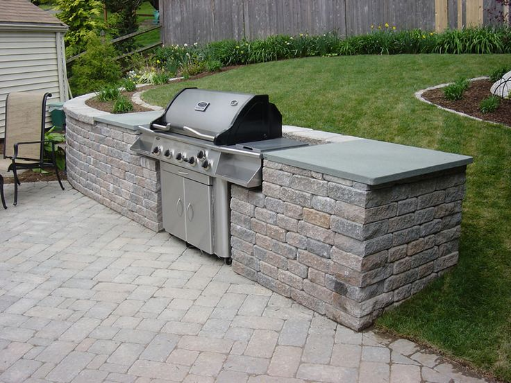 Backyard Built In Grill Ideas : built in grills for outdoor kitchen  Outdoor Kitchens (23) Built in